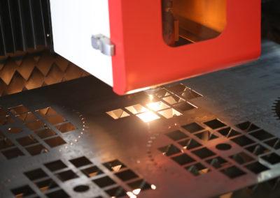 laserové řezání